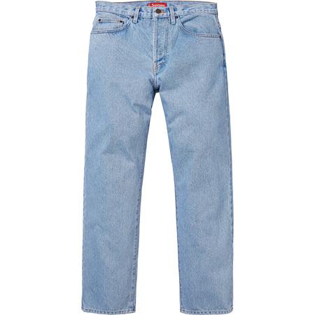 Washed Regular Jeans (Blue)