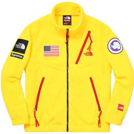 Supreme®/The North Face® Trans Antarctica Expedition Fleece Jacket (Yellow)