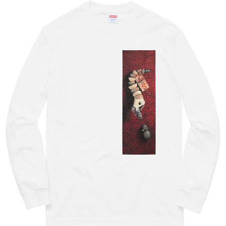 Mike Hill Snake Trap L/S Tee (White)