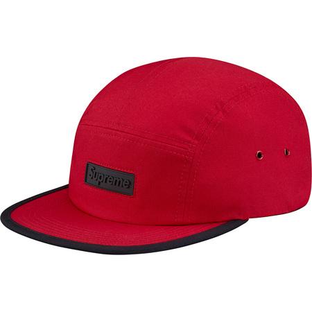 Rubber Logo Camp Cap (Red)