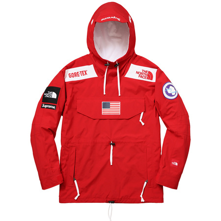 Supreme®/The North Face® Trans Antarctica Expedition Pullover (Red)