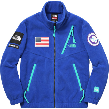 Supreme®/The North Face® Trans Antarctica Expedition Fleece Jacket (Royal)