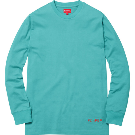 Department L/S Tee (Teal)