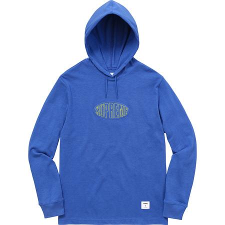 Warp Hooded L/S Top (Royal)