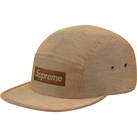 Jacquard Logo Camp Cap (Tan)