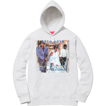 Supreme®/Rap-A-Lot Records Geto Boys Hooded Sweatshirt (Ash Grey)