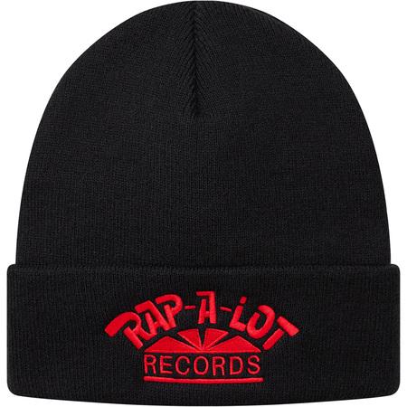 Supreme®/Rap-A-Lot Records Beanie (Black)