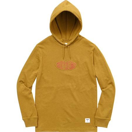 Warp Hooded L/S Top (Heather Dark Gold)
