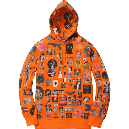 Thrills Hooded Sweatshirt (Orange)