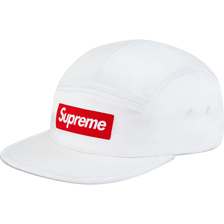 Satin Camp Cap (White)