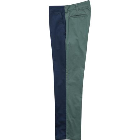 Split Work Pant (Light Navy/Work Green)