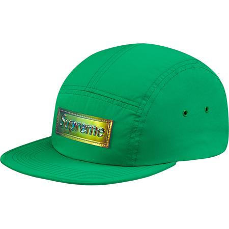 Iridescent Logo Camp Cap (Green)