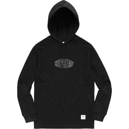 Warp Hooded L/S Top (Black)