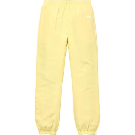 Silk Warm Up Pant (Pale Yellow)