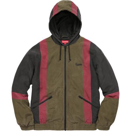 Silk Hooded Jacket (Black)