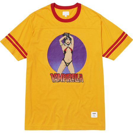 Vampirella® S/S Football Top (Gold)