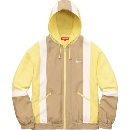 Silk Hooded Jacket (Yellow)