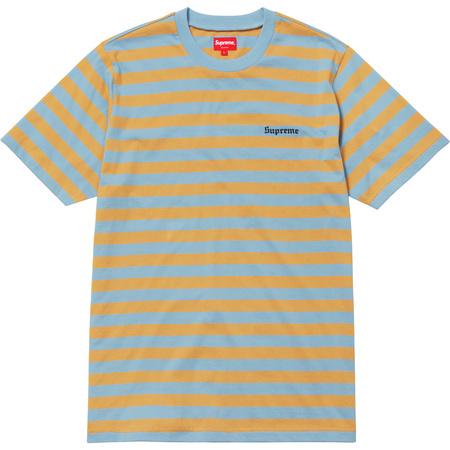 Bar Stripe Tee (Light Blue)