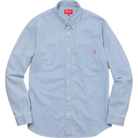 Oxford Shirt (Light Washed Denim)