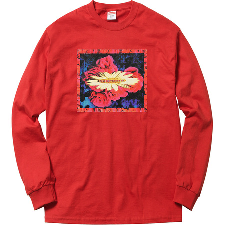 Bloom L/S Tee (Red)