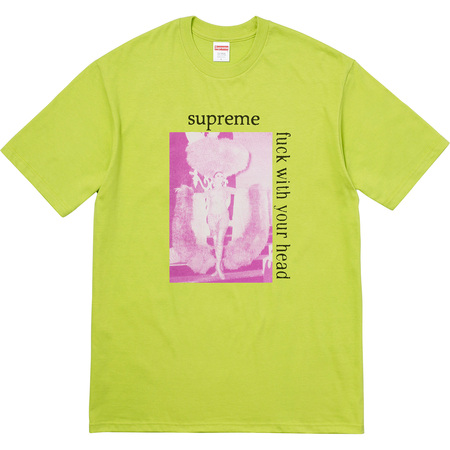 Fuck With Your Head Tee (Lime)