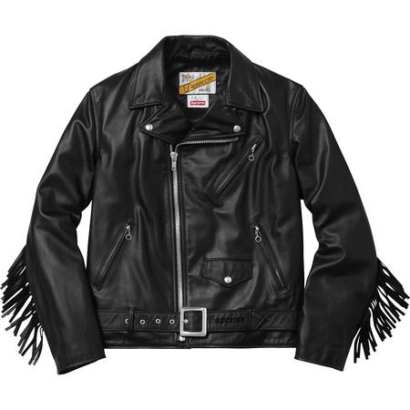 Supreme®/Schott® Chief Tassel Perfecto (Black)