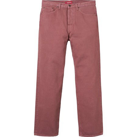 Washed Regular Jeans (Dusty Rose)