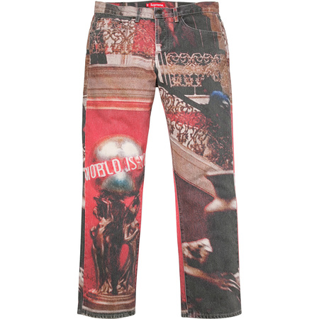 """Scarfaceâ""""¢ The World Is Yours 5-Pocket Jeans (Multi)"""