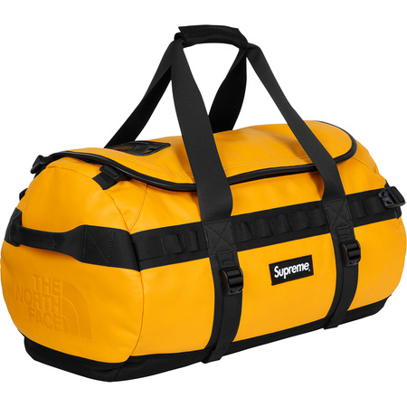 Supreme®/The North Face® Leather Base Camp Duffel (Yellow)