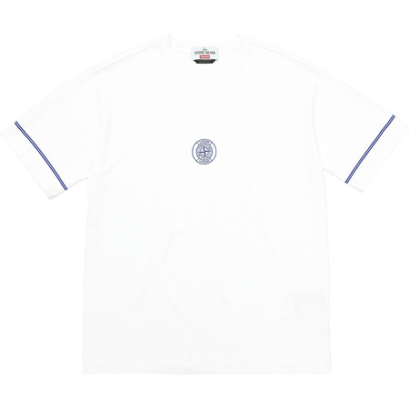 Supreme®/Stone Island® S/S Top (White)