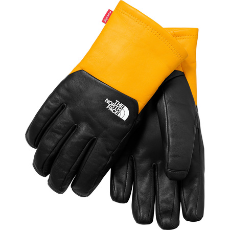 Supreme®/The North Face® Leather Gloves (Yellow)