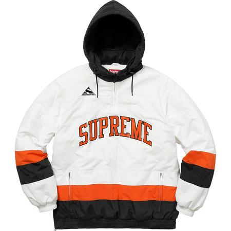 Puffy Hockey Pullover (White)