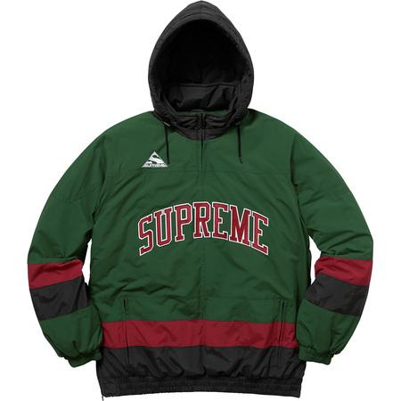 Puffy Hockey Pullover (Dark Green)