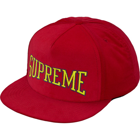 Dotted Arc 5-Panel (Red)