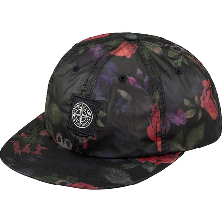 Supreme®/Stone Island® Lamy 6-Panel (Black)