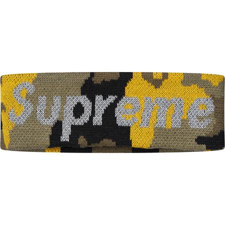 New Era® Reflective Logo Headband (Yellow Camo)