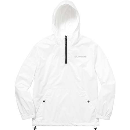 Packable Ripstop Pullover (White)