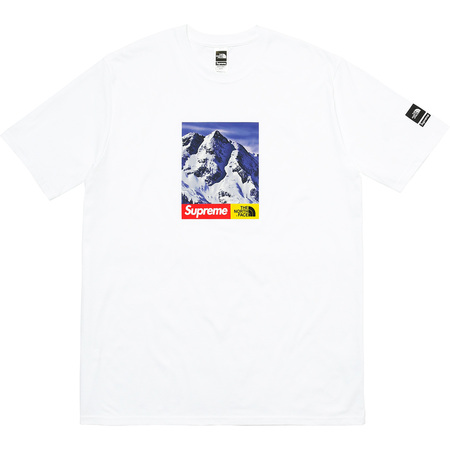 Supreme®/The North Face® Mountain Tee (White)