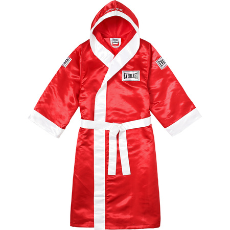Supreme®/Everlast® Satin Hooded Boxing Robe (Red)