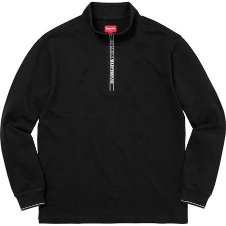 World Famous Half Zip Pullover (Black)