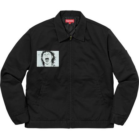 AKIRA/Supreme Work Jacket (Black)