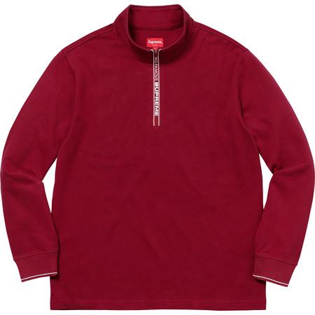 World Famous Half Zip Pullover (Dark Red)