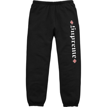 Supreme®/Independent® Fuck The Rest Sweatpant (Black)