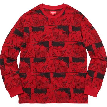 AKIRA/Supreme Syringe Jacquard L/S Top (Red)