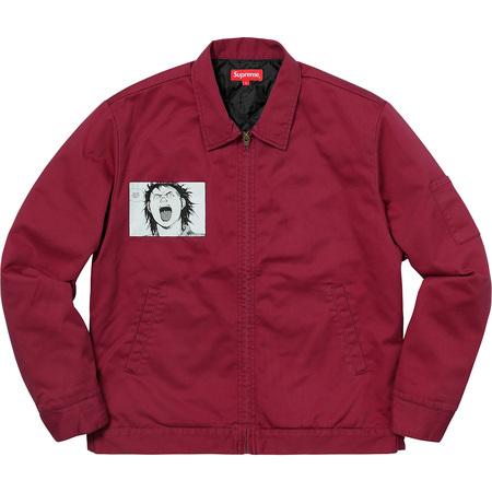 AKIRA/Supreme Work Jacket (Light Burgundy)