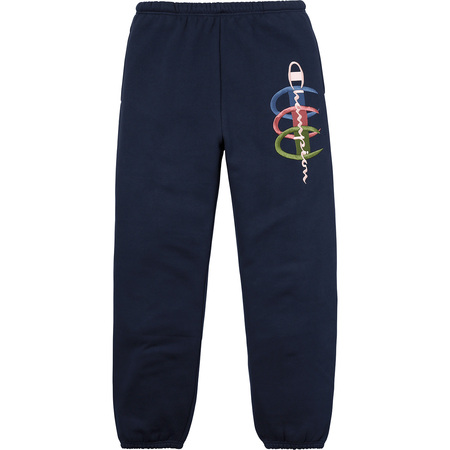 Supreme®/Champion® Stacked C Sweatpant (Navy)