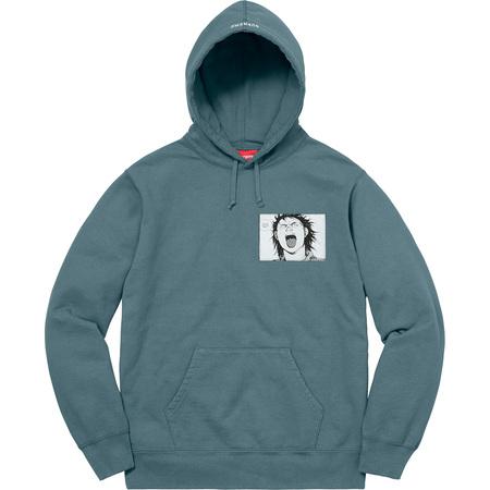 AKIRA/Supreme Patches Hooded Sweatshirt (Slate)
