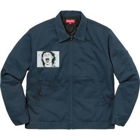 AKIRA/Supreme Work Jacket (Light Navy)