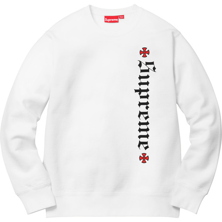 Supreme®/Independent® Fuck The Rest Crewneck (White)