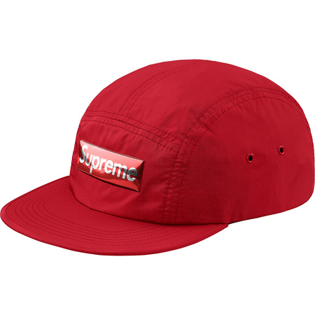 Liquid Metal Logo Camp Cap (Red)
